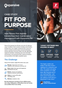 Expansive FM Fitness First ebook cover